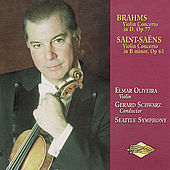 BRAHMS / SAINT-SAENS: Violin Concertos by Elmar Oliveira
