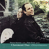 CLAREMONT DUO: Divertimento by Claremont Duo