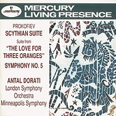 Prokofiev: Symphony No.5/The Love for 3 Oranges Suite/Scythian Suite by Various Artists