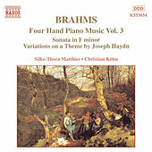 Four Hand Piano Music Vol. 3 by Johannes Brahms