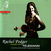 Telemann: Twelve Fantasies for Solo Violin by Rachel Podger