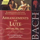 Johann Sebastian Bach: Arrangements for Lute by Oliver Holzenburg