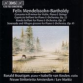 MENDELSSOHN: Concerto for Violin, Piano and String Orchestra by Various Artists