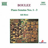 Piano Sonatas Nos. 1 - 3 by Pierre Boulez