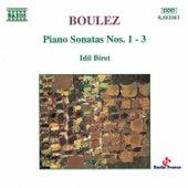 Piano Sonatas Nos. 1 - 3 by Pierre Boulez