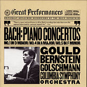 J. S. Bach: Keyboard Concertos Nos. 1, 4 & 5 by Columbia Symphony Orchestra