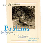 Rubinstein Collection, Vol. 3: Brahms: Piano Quartet No. 1; Violin and Piano Sonata No. 3; Cello and Piano Sonata No. 1 by Arthur Rubinstein