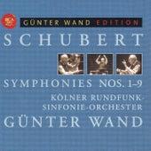 Schubert: Symphonies Nos. 1-9 by Günter Wand