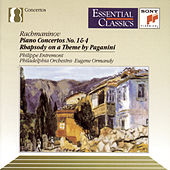 Rachmaninoff: Piano Concertos Nos. 1 & 4; Paganini's Rhapsody by Philippe Entremont