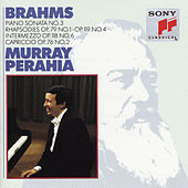 Brahms:  Sonata No. 3, Op. 5;  Rhapsodies, Op. 119, No. 4 & Op. 79, No. 1;  Intermezzo, Op. 76, No. 2;  Intermezzo, Op. 118, No. 6 by Murray Perahia