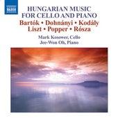 Cello Recital: Kosower, Mark - BARTOK, B. / DOHNANYI, E. / KODALY, Z. / LISZT, F. / (Hungarian Music for Cello and Piano) by Various Artists