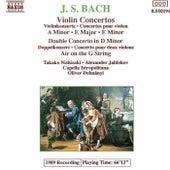 Violin Concertos / Double Concerto by Johann Sebastian Bach