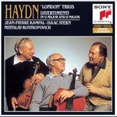 Haydn: Flute Trios & Divertissements by Mstislav Rostropovich