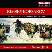 RIMSKY-KORSAKOV: May Night Overture / Suites from the Operas by Neeme Jarvi