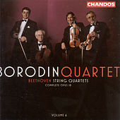 BEETHOVEN: String Quartets, Vol. 6 by Borodin String Quartet