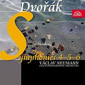 Dvořák: Symphonies Nos 4-6 / Czech PO, Neumann by Czech Philharmonic Orchestra