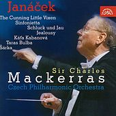 Janáček : The Cunning Little Vixen Suite, Sinfonietta, Taras Bulba / Czech PO, Mackerras by Czech Philharmonic Orchestra
