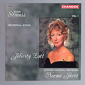 STRAUSS, R.: Orchestral Songs, Vol. 1 by Felicity Lott