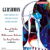 GERSHWIN: Rhapsody in Blue / Second Rhapsody / Piano Concerto in F major by Howard Shelley