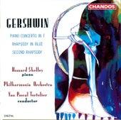 GERSHWIN: Rhapsody in Blue / Second Rhapsody / Piano Concerto in F major by Howard Shelley