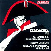 PROKOFIEV: War and Peace Symphonic Suite / Summer Night Suite by Neeme Jarvi