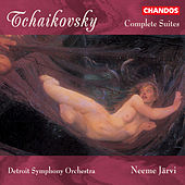 TCHAIKOVSKY: Suites (Complete) by Neeme Jarvi