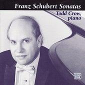Franz Schubert: Four Piano Sonatas; Allegretto in C minor by Todd Crow