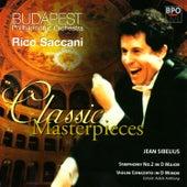 Sibelius - Symphony No 2 & Violin Concerto by Budapest Philharmonic Orchestra