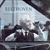 Rubinstein Collection, Vol. 77: Beethoven: Piano Concertos Nos. 1 and 2 by Arthur Rubinstein