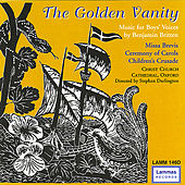 The Golden Vanity - Music for Boys' Voices by Oxford The Choristers of Christ Church Cathedral