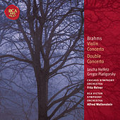 Brahms Violin Concerto & Double Concerto: Classic Library Series by Jascha Heifetz