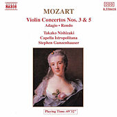 Violin Concertos Nos. 3 and 5 by Wolfgang Amadeus Mozart