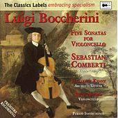 Boccherini: 5 Sonatas for Violoncello by Sebastian Comberti