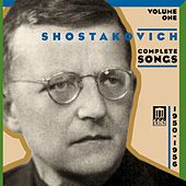 SHOSTAKOVICH, D.: Songs (Complete), Vol. 1 - Vocal Cycles of the Fifties (1950-1956) by Various Artists