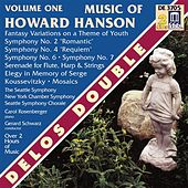 HANSON, H.: Music of Howard Hanson, Vol. 1 - Symphonies Nos. 2 and 4 / Fantasy-Variations on a Theme of Youth (Schwarz) by Various Artists