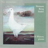 A. Berg: 12 Variationen / J. Soler: Sonata IX / R. Strauss: Sonata Op. 5 by Emili Blasco
