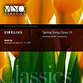 SIBELIUS: Spring Song, Op. 16 by Milwaukee Symphony Orchestra