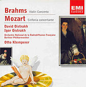 Brahms - Violin Concerto / Mozart - Sinfonia Concertante by Various Artists