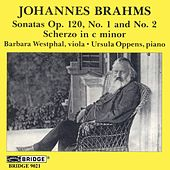 BRAHMS: Sonata in F minor, Op. 120 / Sonata in E flat major, Op. 120 by Barbara Westphal