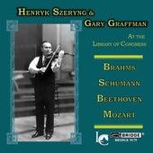 SZERYNG, Henryk / GRAFFMAN, Gary: Performances at the Library of Congress (1970, 1971) by Gary Graffman