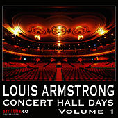 Concert Hall Days, Volume 1 by Louis Armstrong