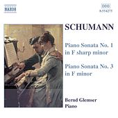 Piano Sonatas Nos. 1 and 3 by Robert Schumann