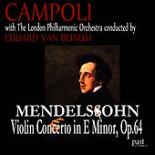 Mendelssohn: Violin Concerto in E minor, Op. 64 by Alfredo Campoli