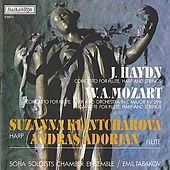 J. Haydn: Concerto for Flute, Harp and Strings – W. A. Mozart: Concerto for Flute, Harp and Orchestra in C Major, KV 299 by Suzanna Klintcharova