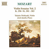 Violin Sonatas Nos. 1, 2, 3, and 8 by Wolfgang Amadeus Mozart