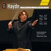 Haydn: Symphony No. 57, Symphony No. 59 & Symphony No. 65 by Heidelberger Sinfoniker
