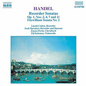 Recorder Sonatas by George Frideric Handel