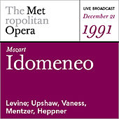 Mozart: Idomeneo (December 21, 1991) by Various Artists