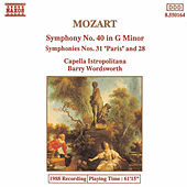 Symphonies Nos. 40, 28, and 31 by Wolfgang Amadeus Mozart