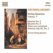 String Quartets Vol. 3 by Felix Mendelssohn